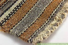 Synthetic Jute Rug How To Choose Between Jute Or Sisal Rugs 4 Steps With Pictures