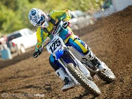 youth motocross bikes 2011 yamaha yz125 first ride photos motorcycle usa