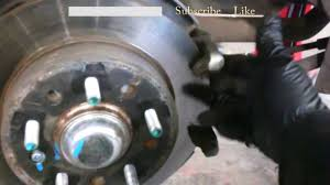 rear brake pad replacement 2008 hyundai tiburon rotors install