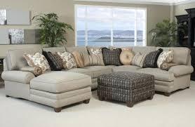 living room image grey microfiber sectional sofa in pewter bi