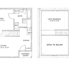 one house plans modern house plans floor plan one bedroom hotel room lobby small and