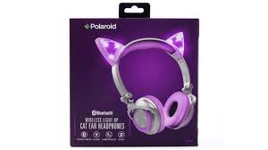 light up cat headphones win a pair of wireless light up cat ear headphones day 3 of the 12