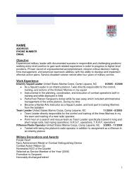 Military To Civilian Resume Examples by Infantry First Sergeant Resume Contegri Com