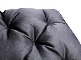 sitzauflagen hochlehner grau