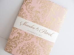 fancy indian wedding invitations pink gold wedding invitation