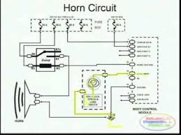 horns u0026 wiring diagram youtube
