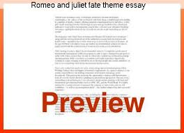 theme of fate in romeo and juliet essay romeo and juliet fate theme essay custom paper help