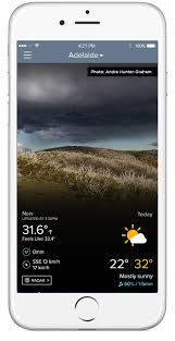 gadget de bureau meteo weatherzone free smartphone app free