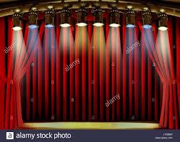 stage curtain spot lights stock photos u0026 stage curtain spot lights