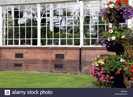 the winter gardens glasgow scotland uk stock photo royalty