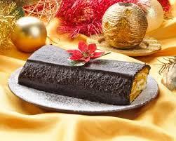 cuisine az com recettes recette bûche de noël au chocolat et au mascarpone