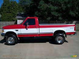 1997 Ford F350 Truck Parts - 1997 ford f350 xlt regular cab 4x4 in vermillion red photo 8