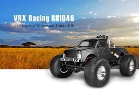 rc monster truck racing vrx racing rh1046 1 10 rc monster truck rtr 152 33 free