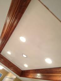how to add under cabinet lighting crown molding and recessed lighting