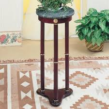 pedestal plant stands tables you ll wayfair