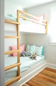 Wall Bunk Beds Built In Bunk Beds Paradoxproductions Site