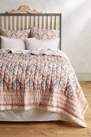 Anthropologie Bed Skirt Kerry Cassill Ituza Quilt Anthropologie