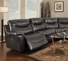 leather reclining sectionals sealy leather sofa living room