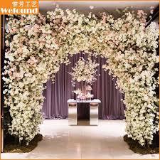 Wedding Arch For Sale Wefound Wedding Decoration Artificial Cherry Blossom Flowers Arch