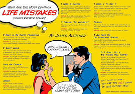what are the most common life mistakes young people make