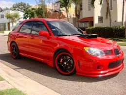 sti subaru red 2006 subaru impreza wrx limited wagon red wrx u0027s pinterest