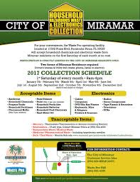 hazardous waste miramar fl official website