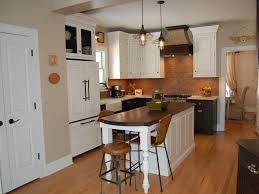 curious design of kitchen island with bar seating tags