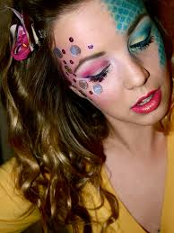 mermaid makeup the beshelled femme or the scaled goddess face