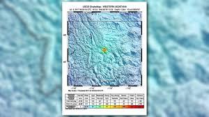 Oregon Map Coast by Quake Hits Pacific Ocean Off Coast Of California Oregon Kgw Com