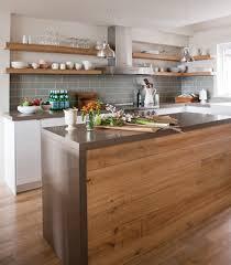 comment decorer une cuisine ouverte comment decorer une cuisine ouverte 4 cuisine moderne bois home