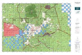 Blm Land Map Arizona by Arizona Gmu 11m Map Mytopo