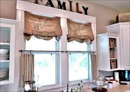 Kitchen Cabinet Valance by Kitchen Burlap Kitchen Valance Diy Burlap Curtains Rachael Ray