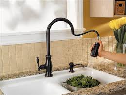 kitchen single handle kitchen faucet with sprayer and soap