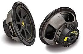 amazon com subwoofers electronics amazon com kicker 12 inch 300w power car audio subwoofers subs