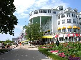 Grand Hotel Cupola Bar Mackinac Island Michigan Tour