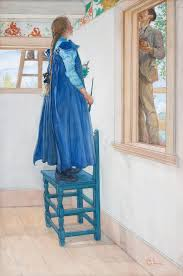 carl larsson suzanne and another signed c l within a circle and dated