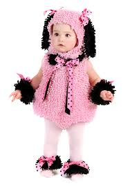 pink witch costume toddler baby pink poodle costume