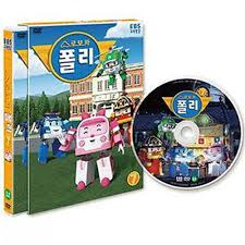 robocar poli dvd 7 korean animation ebs tv character robot car ebay
