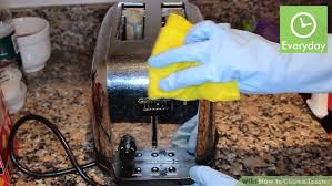 Easy Clean Toaster 3 Ways To Clean A Toaster Wikihow