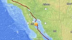 Baja Mexico Map by 4 9 Magnitude Earthquake Hits Mexico U0027s Baja California Peninsula