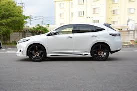 toyota harrier 2008 tuned toyota harrier by rowen looks like a sporty lexus rx