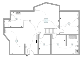 Exle Of Floor Plan Drawing | the electrical and telecom plan includes building electrification