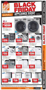 home depot washer dryer black friday home depot black friday canada 2014 flyer sales and deals u203a black