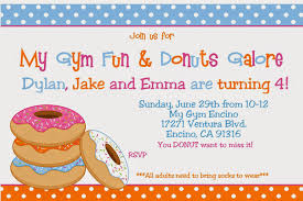 party of 5 donut birthday party