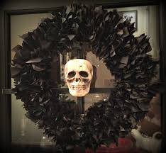 Halloween Wreath Supplies by How To Make A Tissue Paper Halloween Wreath Rocky Mountain Bliss