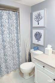 How To Install Shower Curtain Height Measurements And How To Hang Pictures In A Bathroom