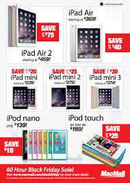 ipad mini 2 black friday macmall u0027s black friday sale features savings of up to 86 on the