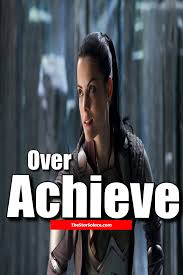 inspirational quote victory over achieve or be an over achiever star solace motivation