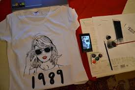 fan made t shirts swiftie swiftie image 2343615 by lauralai on favim com