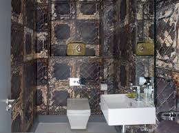 designer bathroom wallpaper 20 designs of stylish bathroom wallpapers home design lover